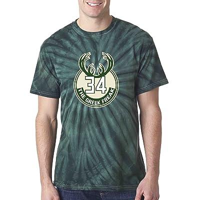 "The Silo TIE DIE GREEN2 The Greek Freak ""LOGO"" T-Shirt"