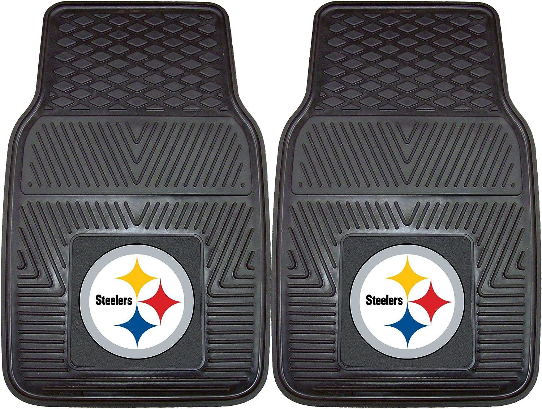 FANMATS NFL Pittsburgh Steelers Vinyl Heavy Duty Car Mat