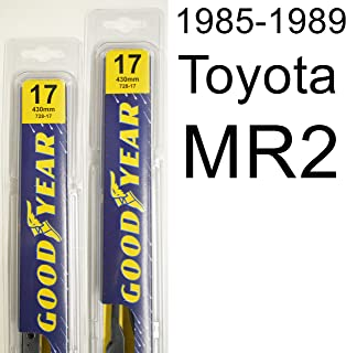 "product image for Toyota MR2 (1985-1989) Wiper Blade Kit - Set Includes 17"" (Driver Side), 17"" (Passenger Side) (2 Blades Total)"