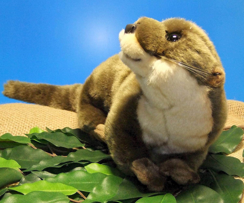 Fischotter Flussotter Otter * 45 cm * Plüschtier Plüschotter: Amazon ...