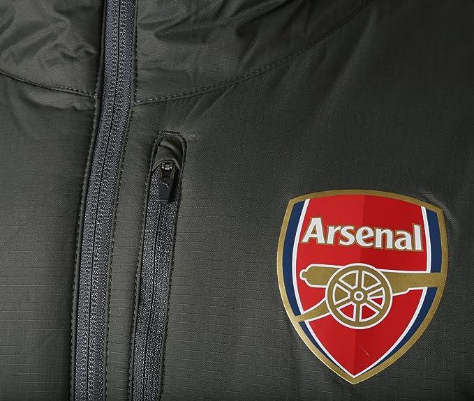 fcc25b1d6 Puma 2017-2018 Arsenal Reversible Jacket (Dark Shadow): Amazon.co.uk:  Sports & Outdoors