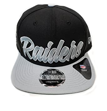 8ce97eaed593a8 Amazon.com: New Era Og Fits La Oakland Raiders Black White Script ...