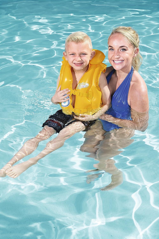 23f414157 Bestway Kids Swim Safe Baby Vest  (Step B ) Learn to Swim Inflatable ...