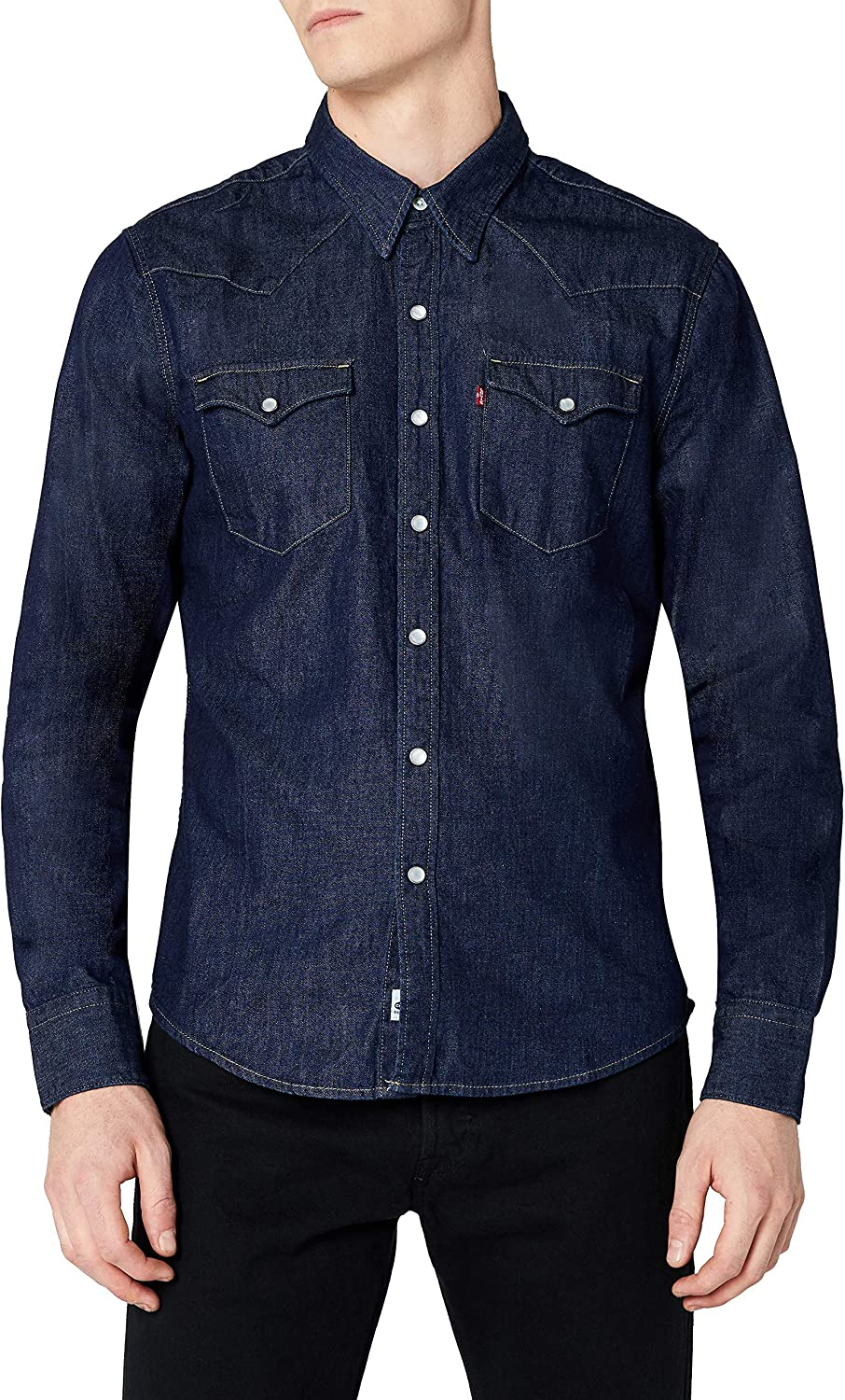 Levi's L/S Barstow Western Shirt Camisa Casual para Hombre