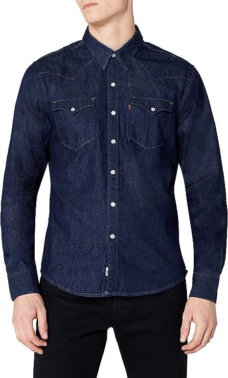 Levis L/S Barstow Western Shirt, Camisa Casual de Manga Larga Para Hombre: Amazon.es: Ropa y accesorios
