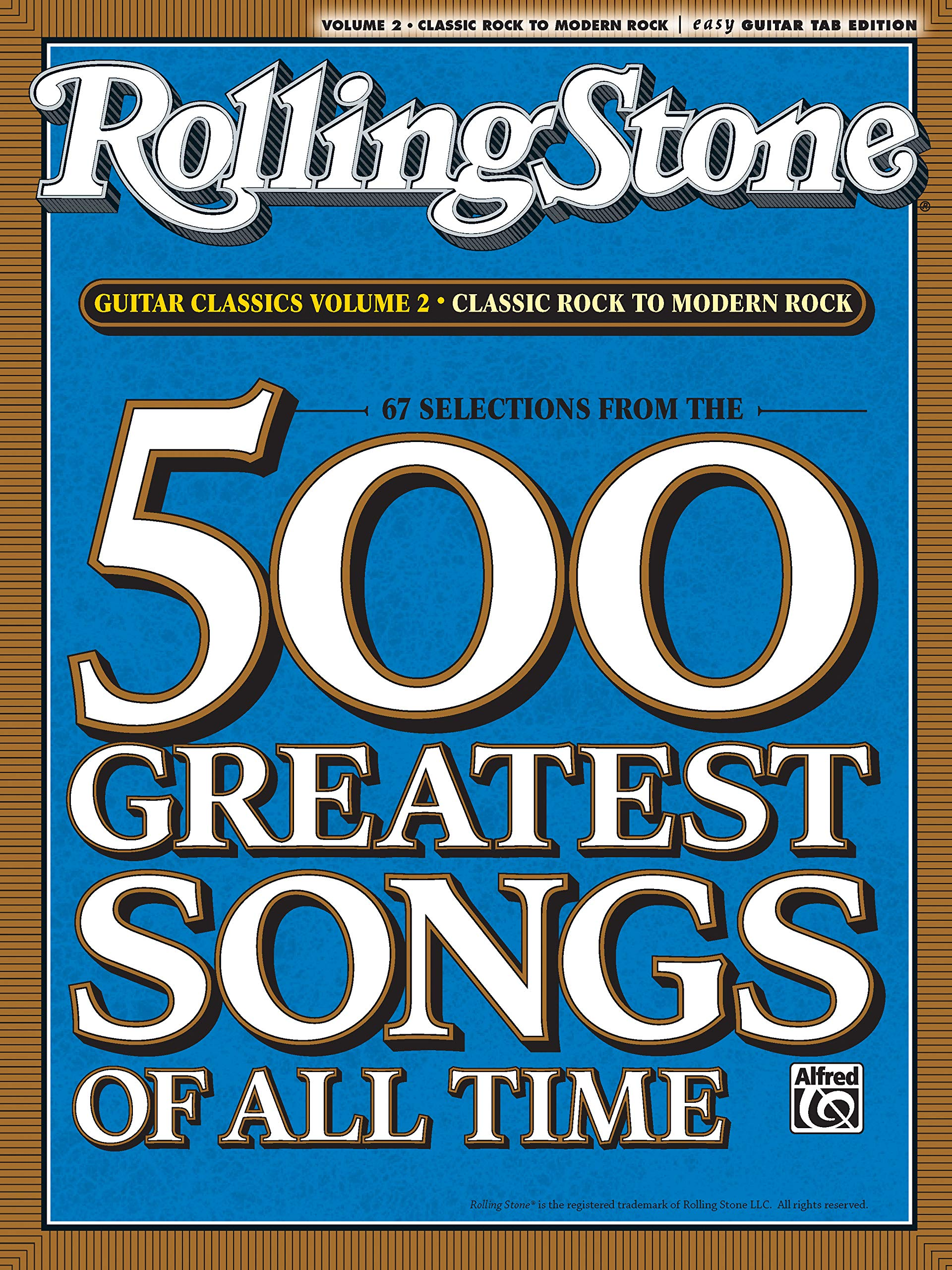 RollingStone guitar classics, volume 2: Classic Rock to Modern ...