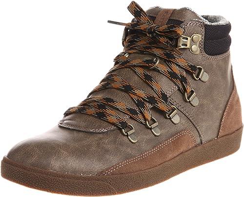 Diesel Fastner 2 - Zapatillas fashion de cuero de imitación hombre: Amazon.es: Zapatos y complementos