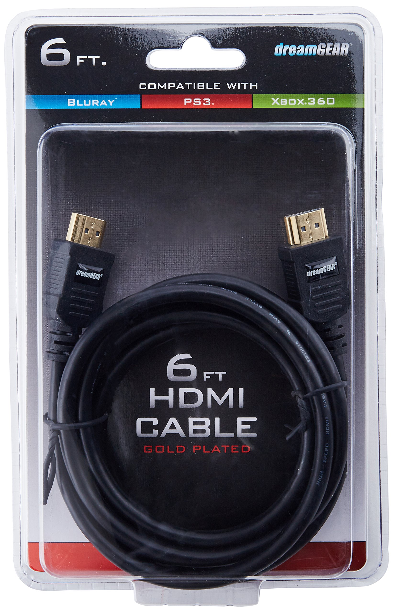 dreamGEAR High Speed HMDI Cable (v. 1.3)