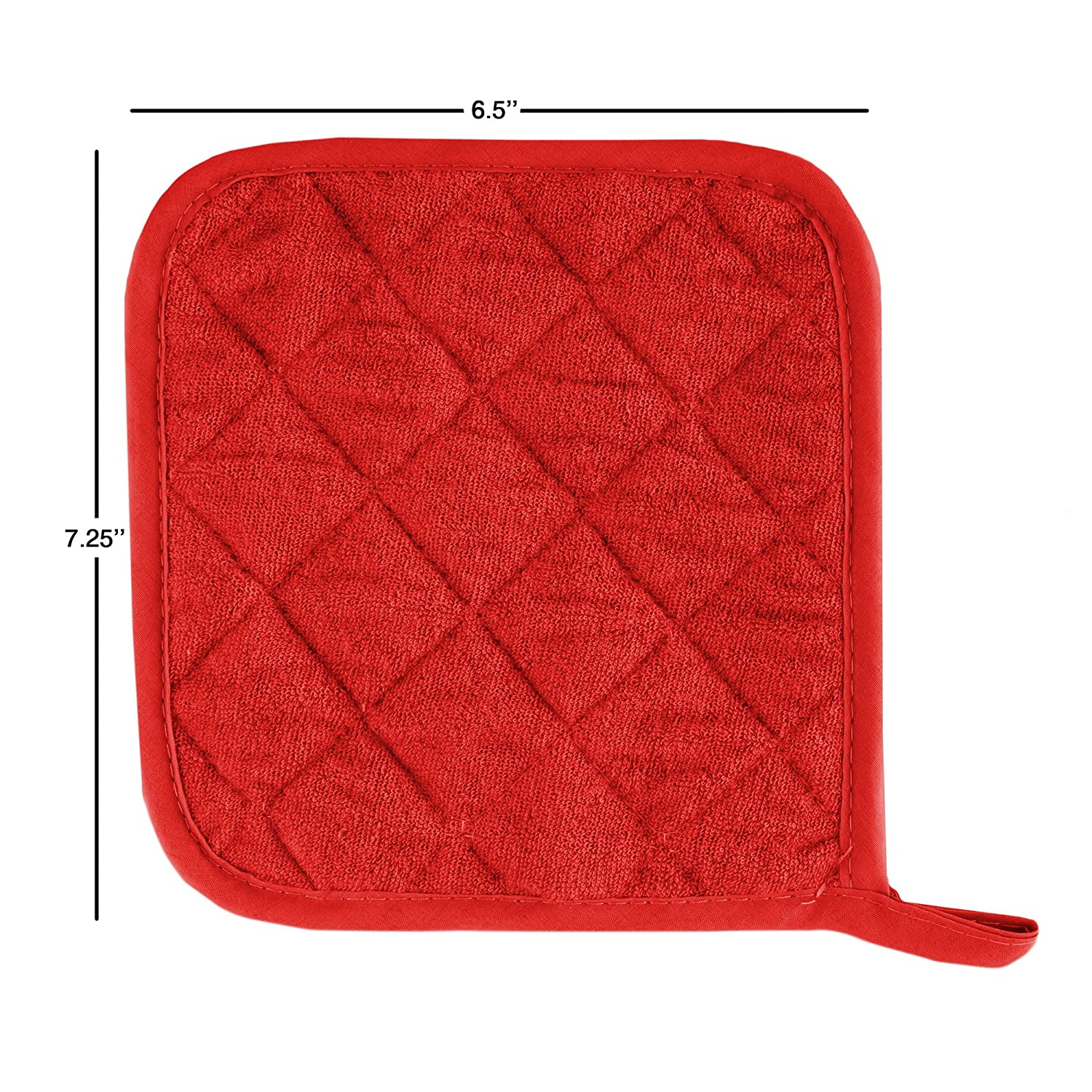 537bb6d48bf Lavish Home Pot Holder Set with Silicone Grip