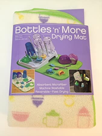 Amazon.com: Kitchen Basics Botellas N más secado mat: Baby
