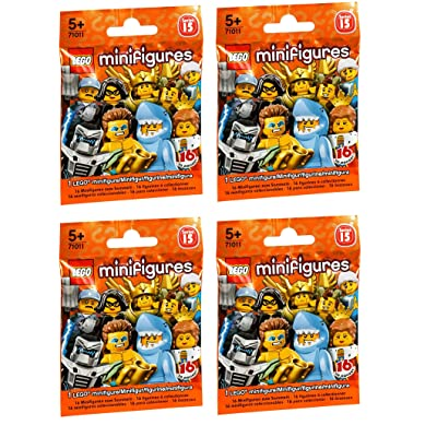 LEGO Series 15 Minifigures Random Pack of 4 (71011): Toys & Games