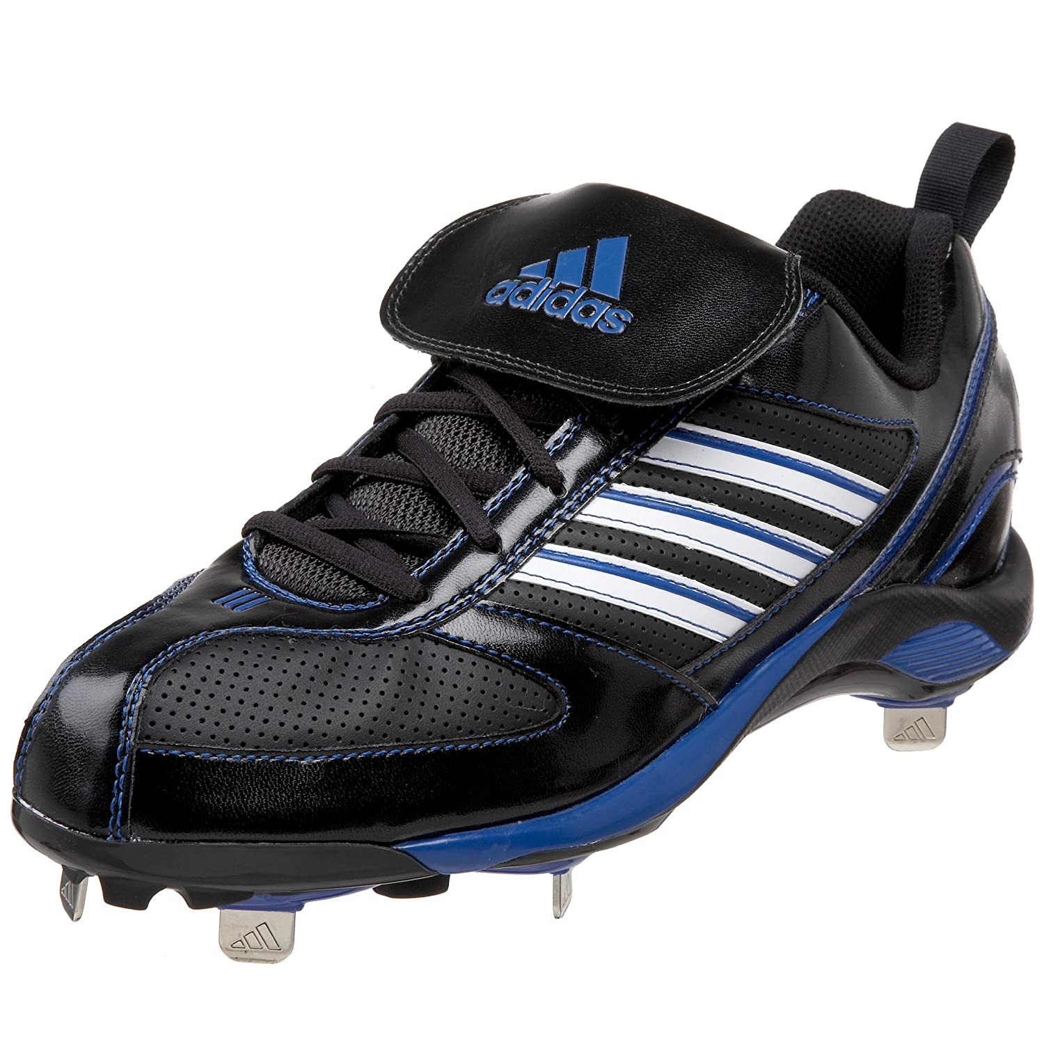adidas Mens Diamond King Metal Low Baseball Cleat