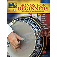 Songs for Beginners: Banjo Play-Along Volume 6 book cover