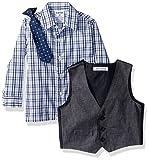 Izod Baby boys 4-Piece Vest Set with Dress