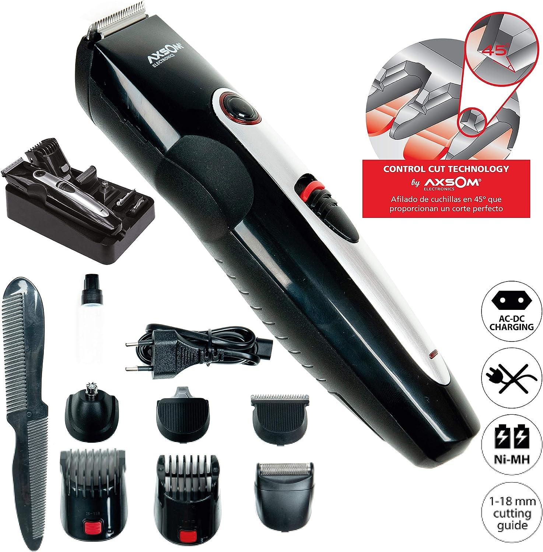 Maquinilla de Cortar barba, KIT Cortapelo Profesional para Barba, Barbero Electrico, Recortador de Barba.: Amazon.es: Belleza