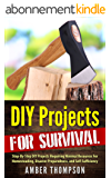 DIY Projects For Survival: Step-By-Step DIY Survival Projects Requiring Minimal Resources For Homesteading, Disaster Preparedness, and Self-Sufficiency  (English Edition)
