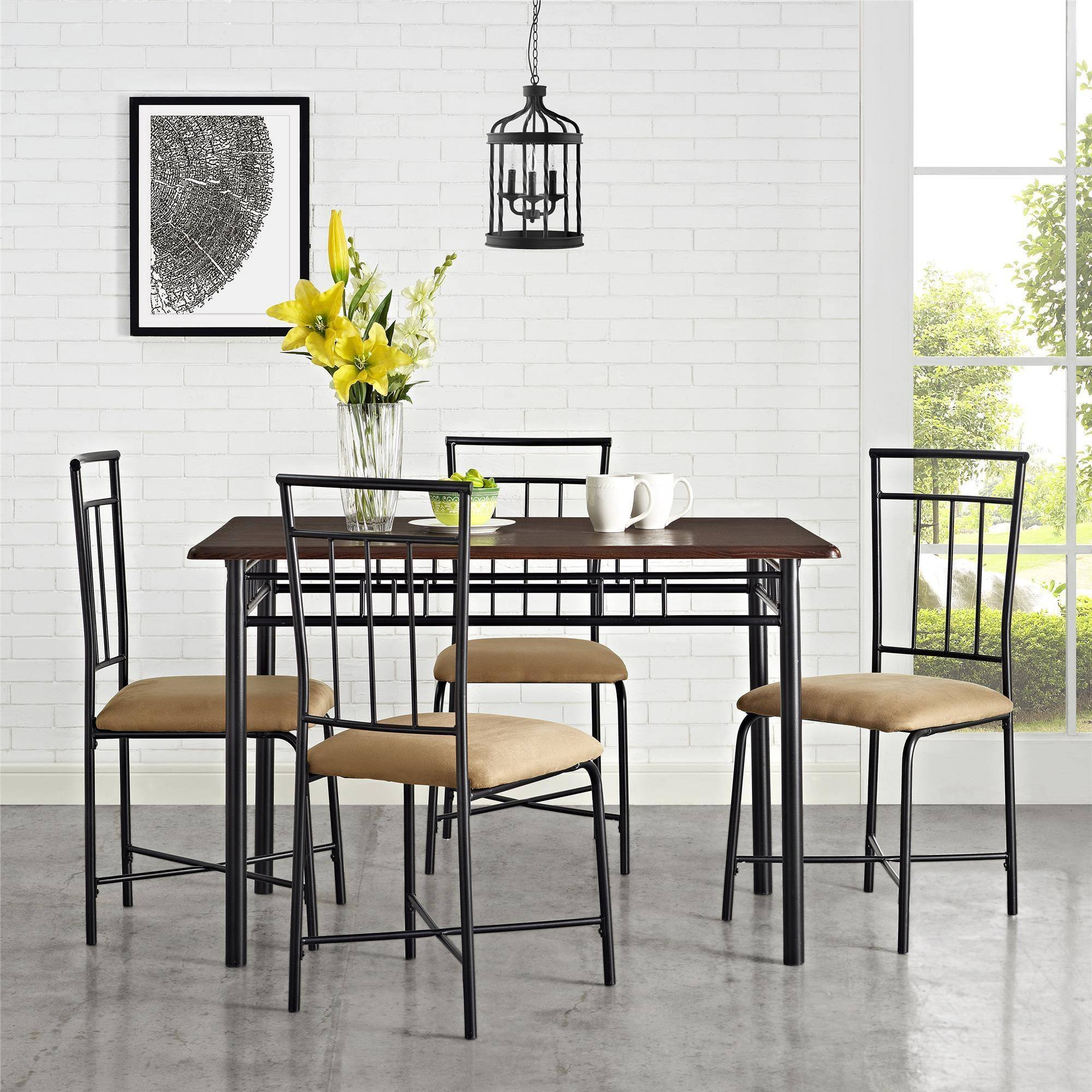 MS furniture Transitional 5 Piece Dining Set by MS furniture