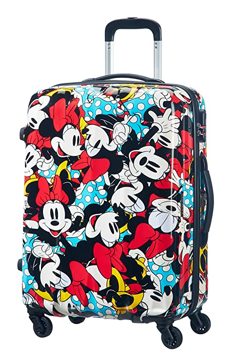 American Tourister by Samson itet Rolley 65 cm Disney Edition Spinner Incluye Neceser negro Minnie Comics