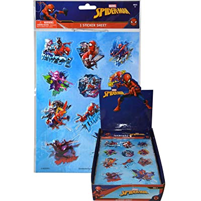 Spider-Man Jumbo Stickers - Extra Large Raised Stickers: Toys & Games