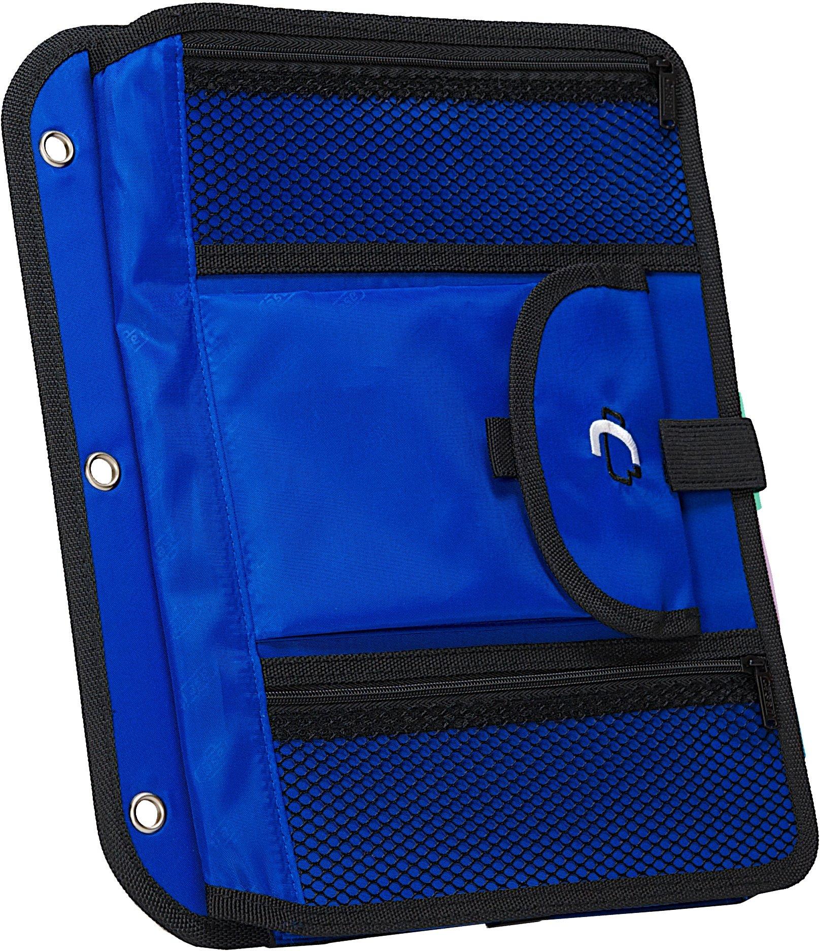 Case-it Locker Accessory 5-Tab File, Blue, ACC-21-BLU