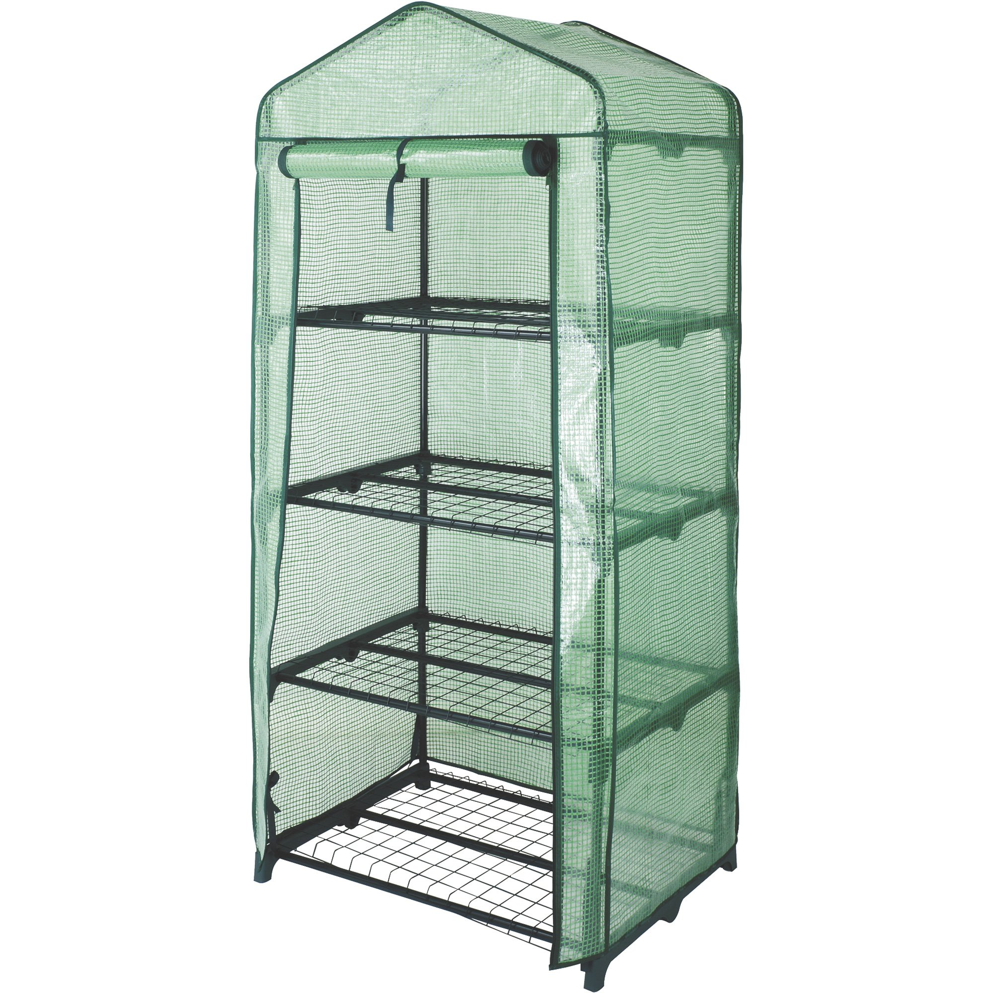 4-Tier Mini Greenhouse - 27in.W x 19in.D x 63in.H