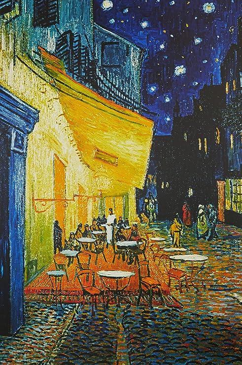 Amazon.co.jp: ポスター ゴッホ/夜のカフェテラス TX-1848: ホーム&キッチン