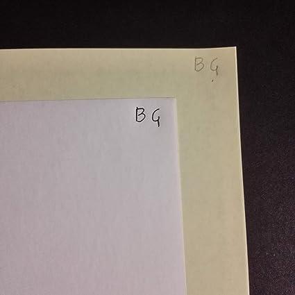 500 X 2 hojas A5 papel química CB Blanco/CF Amarillo para ...