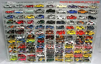Amazon.com: Hot Wheels Display Case 108 compartment 1/64 scale ...