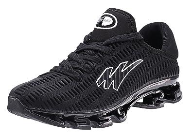 a4031b3a801c JOOMRA Chaussures de Sport pour Hommes Basket à Lacets Respirant Mode  Sneaker Loisirs Shoe Running Course