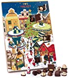 Hachez Adventskalender Weihnachtsmarkt, 1er Pack (1 x 250 g)
