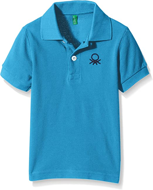 United Colors of Benetton 3089c3303, Polo Para Niñas, Azul, 10-11 ...
