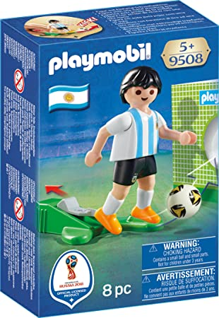 Playmobil Fútbol- Jugador Argentina Muñecos y Figuras, Multicolor ...