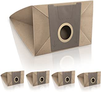 WESSPER® Bolsas de aspiradora para Bosch Sphera 26 1600w (5 piezas, papel): Amazon.es: Hogar