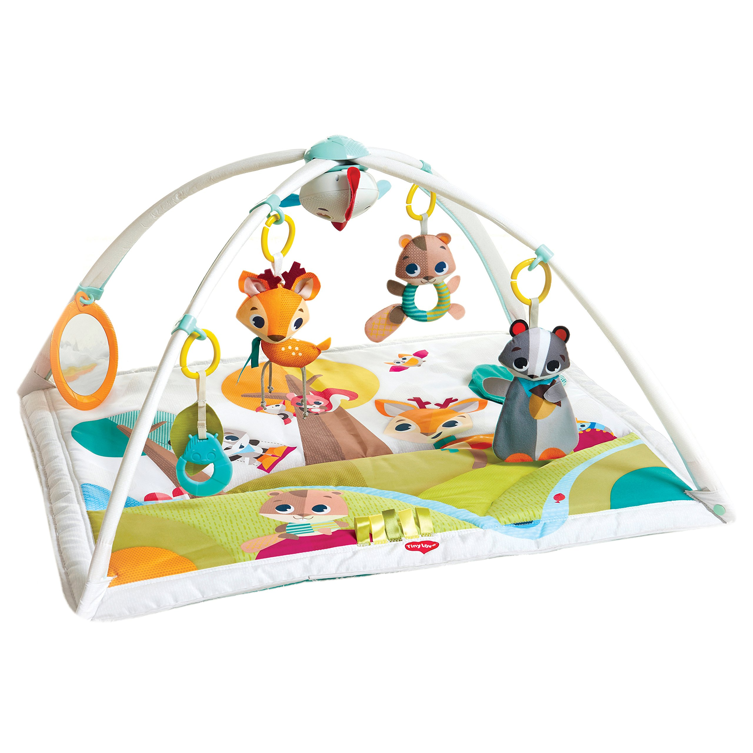 Tiny Love Gymini Deluxe Activity Mat, Into The Forest