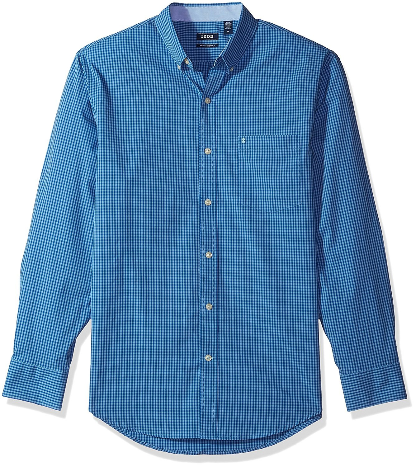 IZOD Men's Gingham Long Sleeve Shirt 82SW993