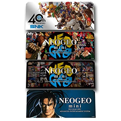 NEOGEO Mini Official Console Character Stickers (Electronic Games): Video Games