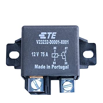 TE tyco BOSCH 75 Amp High Current 12 Volt Automotive Relay SPST