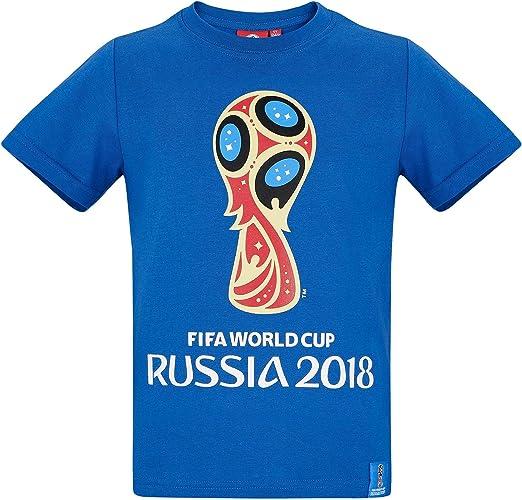 2018 FIFA World Cup Chicos Camiseta Manga Corta - Azul - 152 ...