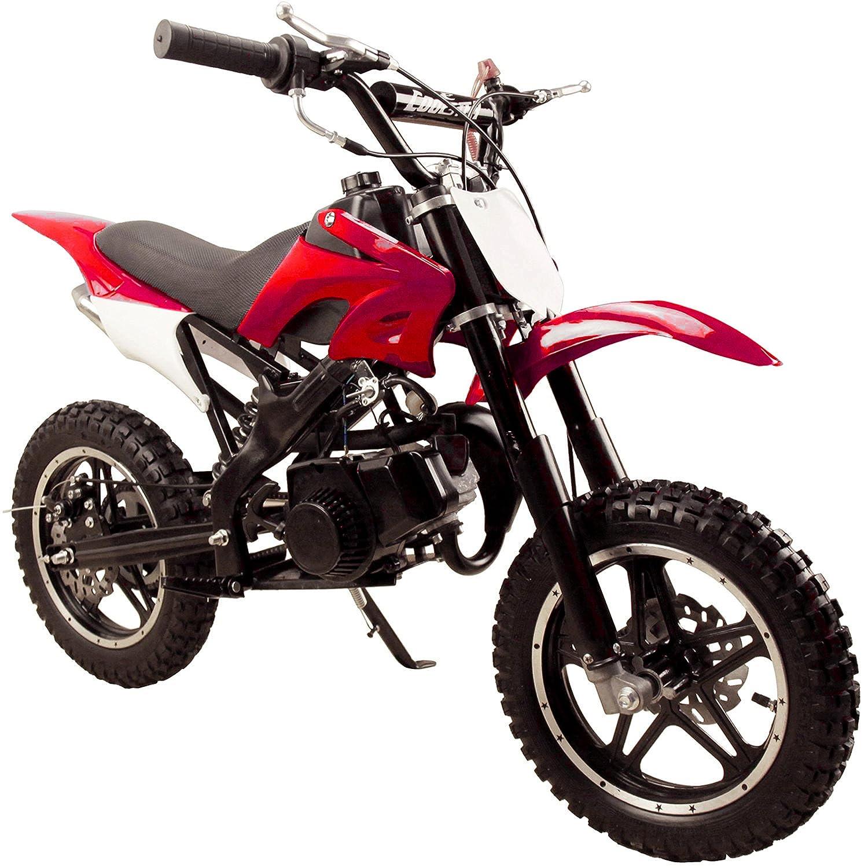 Amazon.com: Flying Horse 49cc 50cc High Performance 2 Stroke Gas Powered  Mini Dirt Bike Motorcycle – Gas Powered Kids mini Dirt Motocross Bike:  Automotive
