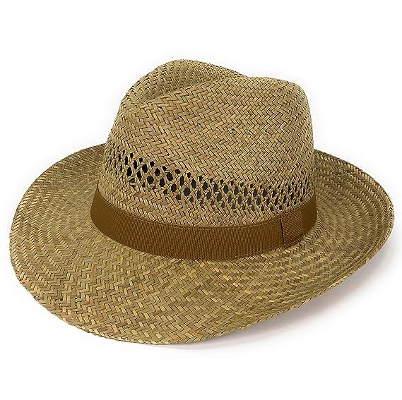 WEROR - Cappello Panama - Donna  Amazon.it  Abbigliamento d3a1e9ce7baa