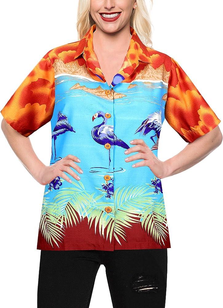 LA LEELA las Mujeres flamencos del Caribe botón Calabaza Naranja ...