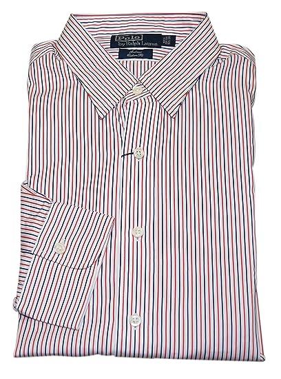 utterly stylish online for sale best choice Polo Ralph Lauren Andrew Custom Fit Mens Orange Blue Navy ...