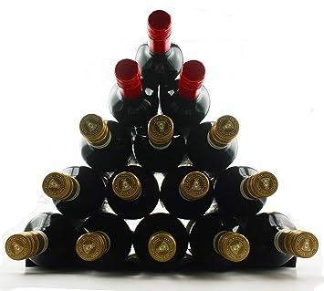Winestakz Wine Storage System - Refrigerator or Bench Storage u0026 Protection for Red Wine u0026 White  sc 1 st  Amazon.com & Amazon.com: Winestakz Wine Storage System - Refrigerator or Bench ...