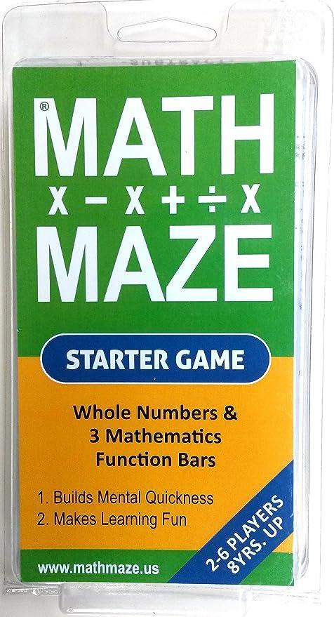 Amazon.com: Matemáticas laberinto Starter Juego de cartas ...