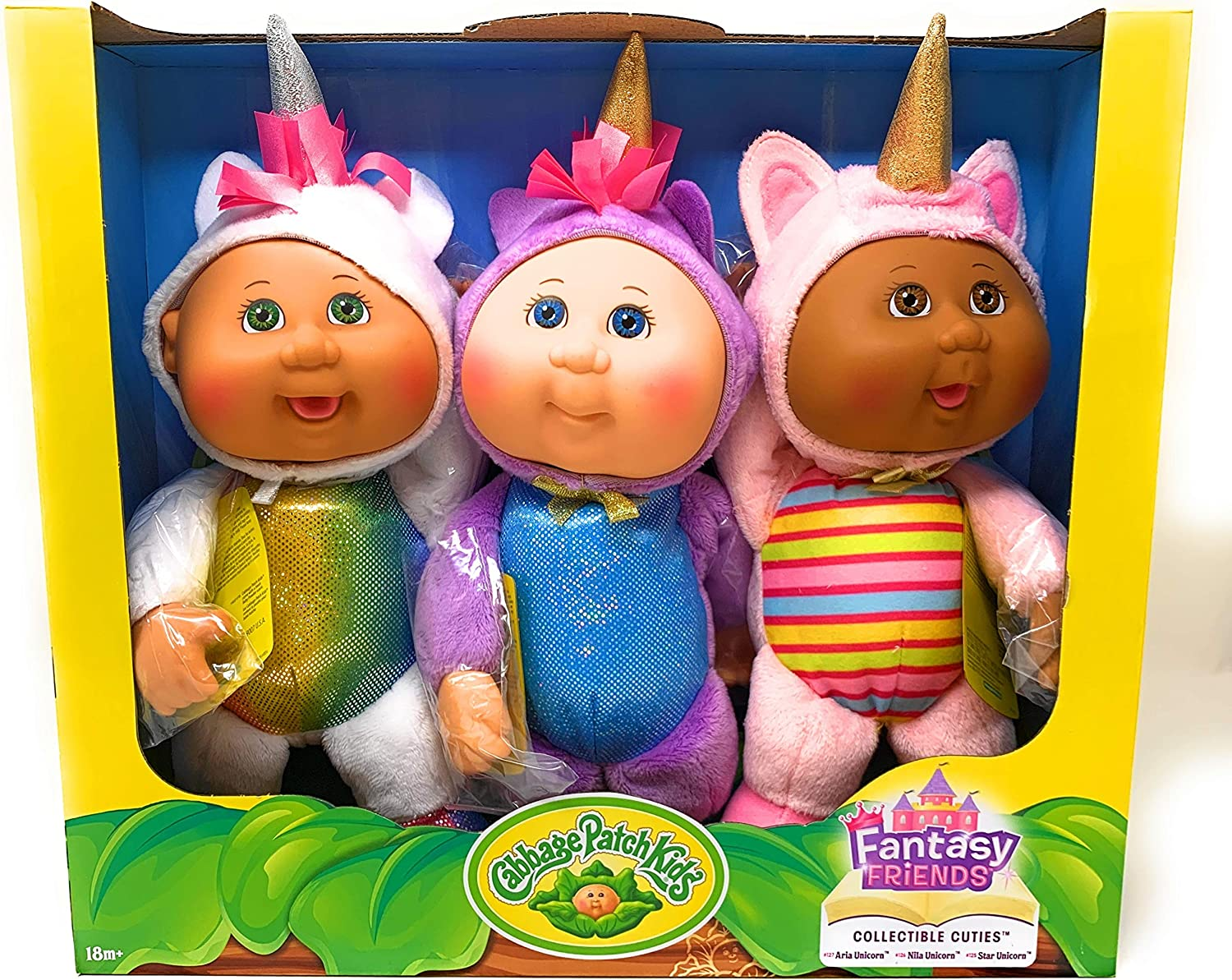 Cabbage Patch Kids Collectible Cuties Fantasy Friends