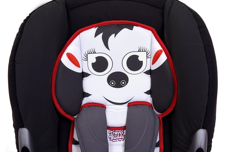 The Travel Buddys Seat Liner Accessory Zebra Travel Tidy