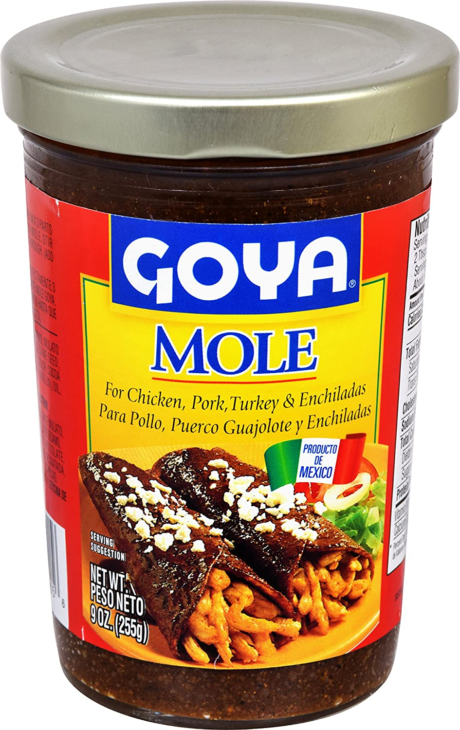 Goya Foods Mole Authentic Mexican Style, 9 Ounce