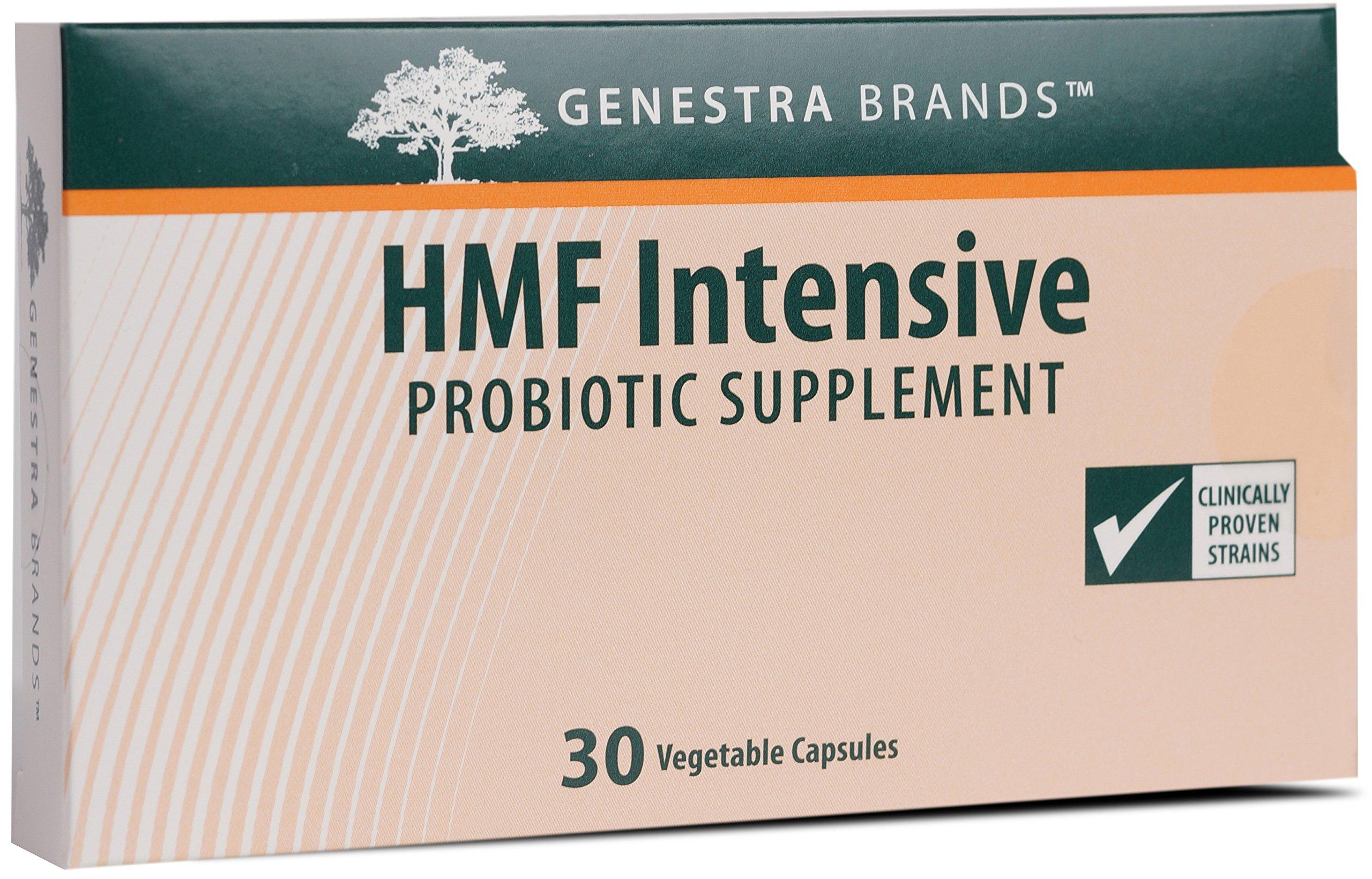 Genestra Brands - HMF Intensive - Four Strains of Probiotics to Promote GI Health* - 30 Capsules