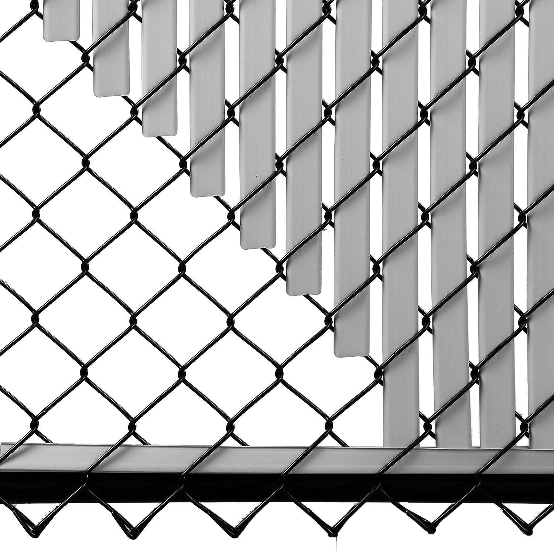 Amazon.com : 6ft Gray Tube Slats for Chain Link Fence : Garden & Outdoor