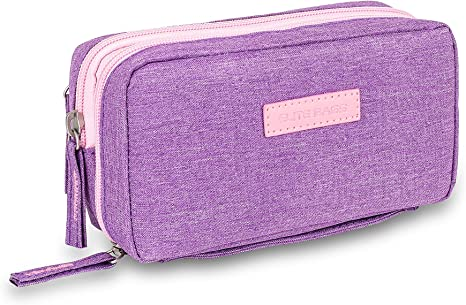 Bolsa estuche isotérmico para diabéticos | Diabetic´s | Elite Bags | Color: morado | Para plumas de insulina y glucómetros: Amazon.es: Salud y cuidado personal